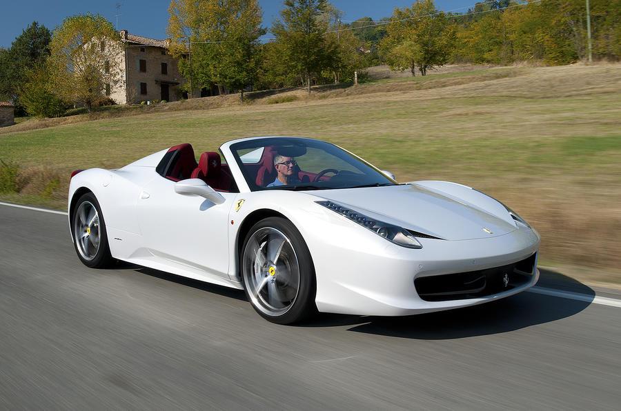 Ferrari 458 convertible