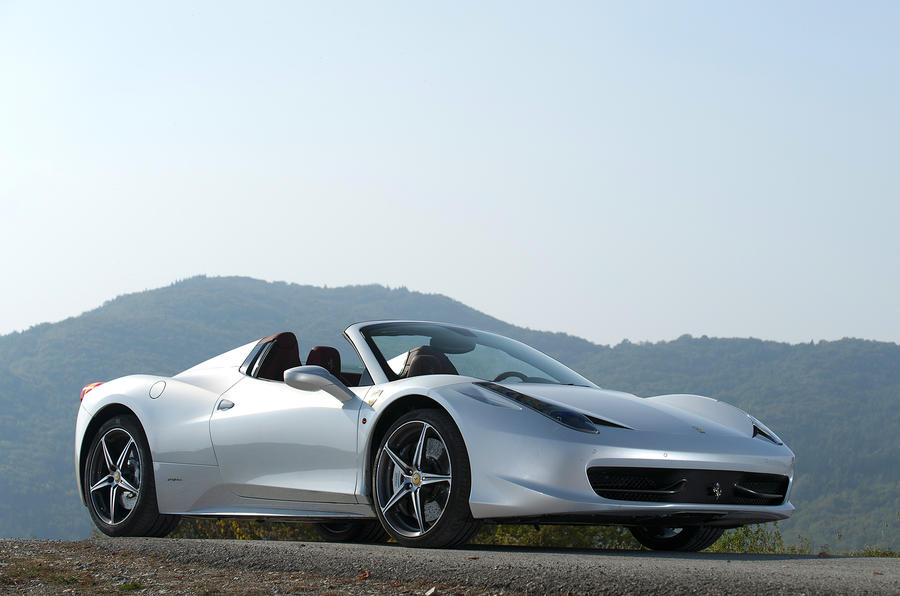 4.5 star Ferrari 458 Spider