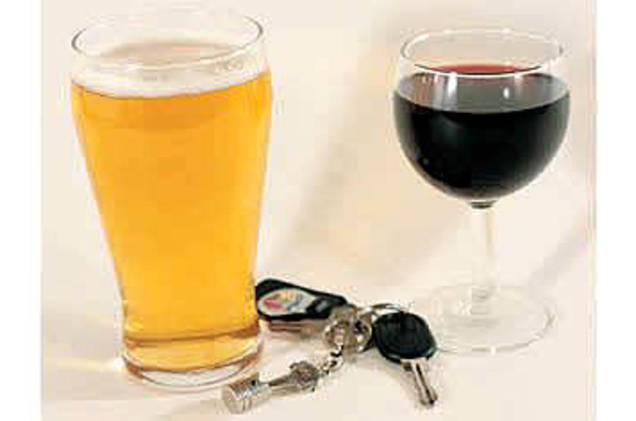 Drink-drive offences fall
