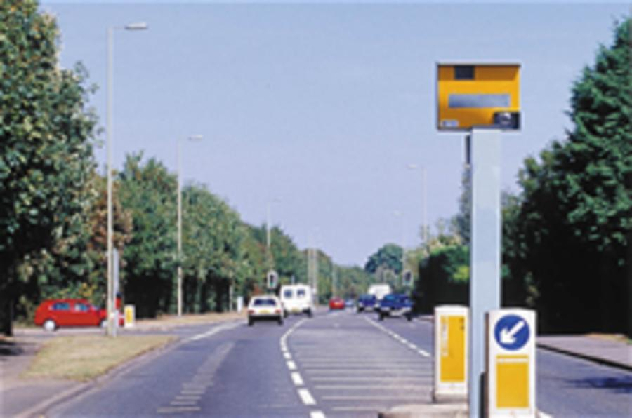 'Intelligent' speed cameras in UK