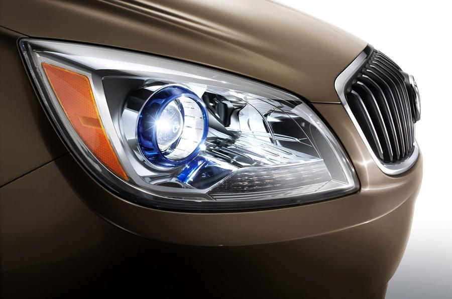 Detroit motor show: Buick Verano