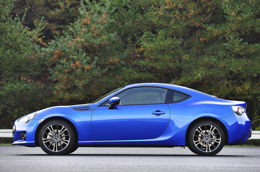 Subaru BRZ side profile