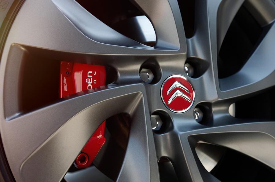 DS3 Racing brake calipers