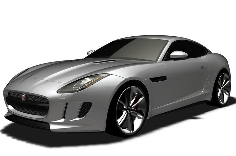 Jaguar confirms leaked images show original C-X16 coupé concept