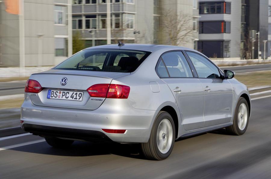 Volkswagen Jetta Hybrid rear