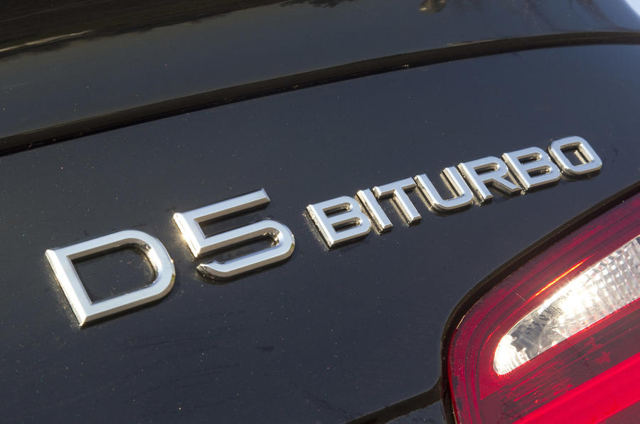 Alpina D5 Bi-Turbo badging