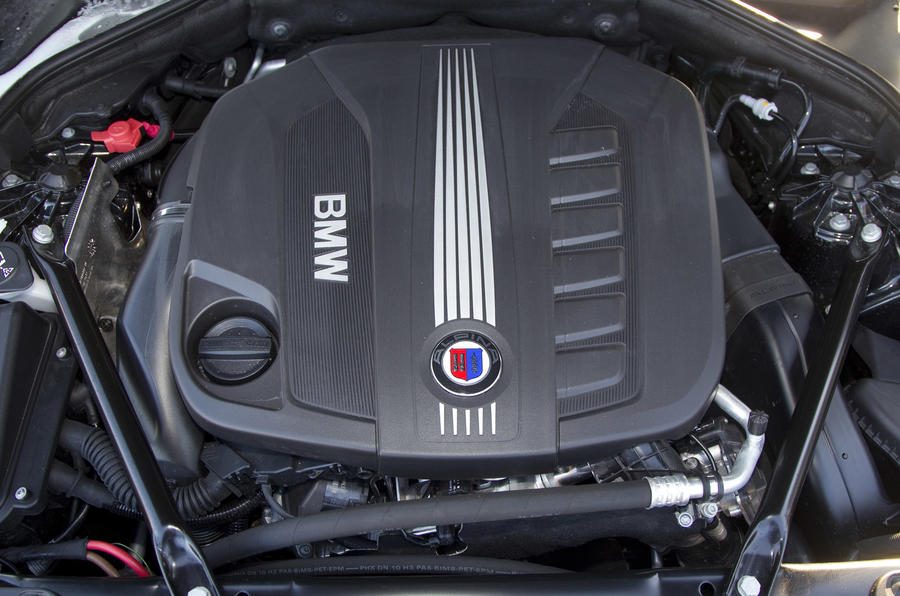 3.0-litre Alpina D5 diesel engine