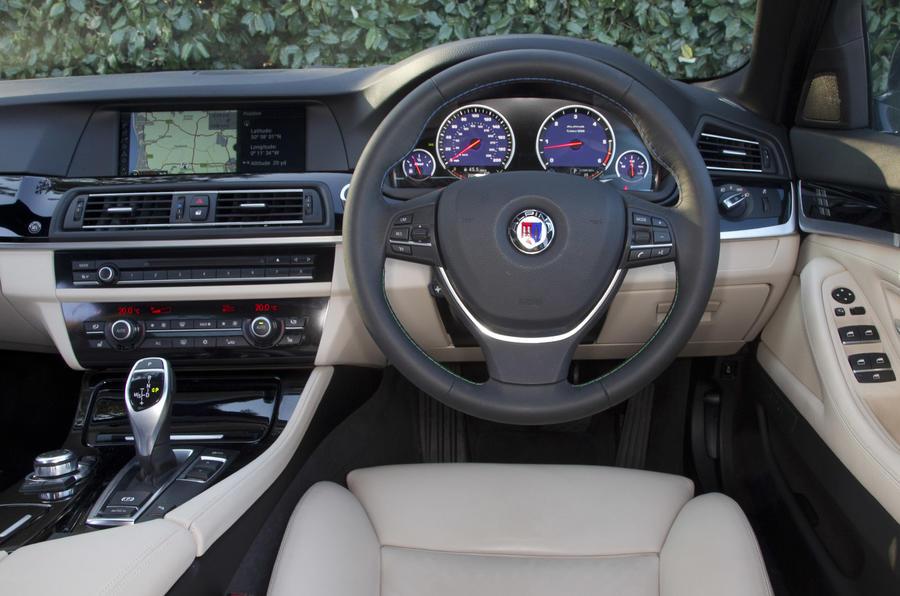 Alpina D5 Bi-Turbo dashboard