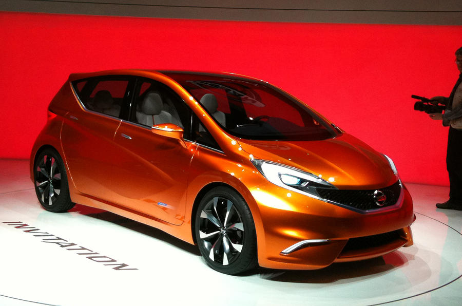 Geneva 2012: Nissan Invitation