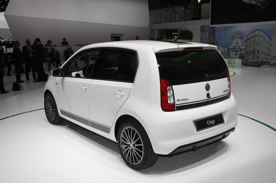 Geneva 2012: Five-door Skoda Citigo