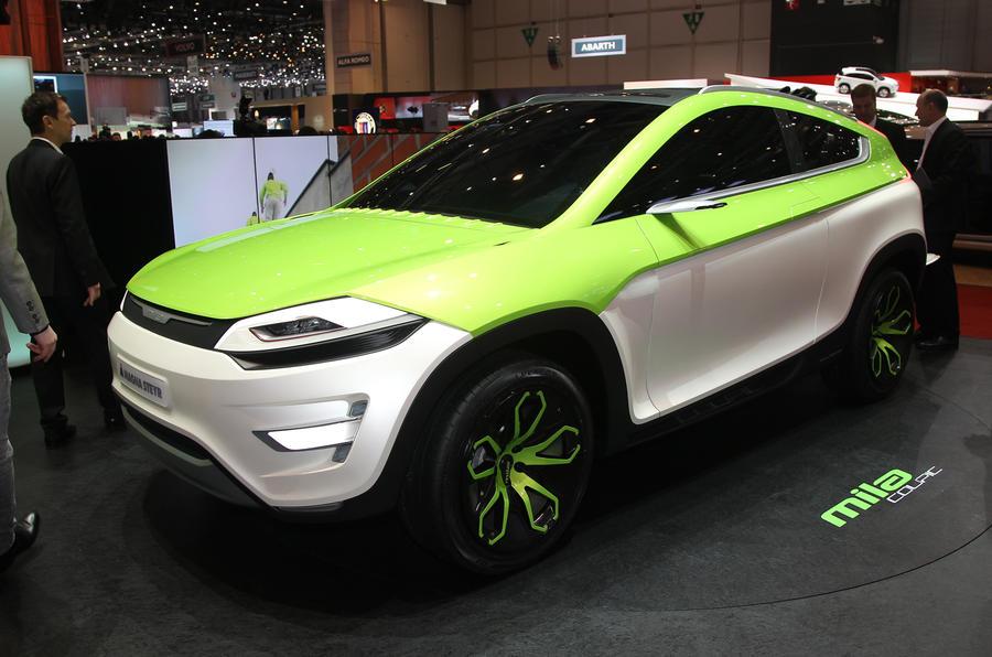 Geneva: Magna Steyr 3-in-1 car