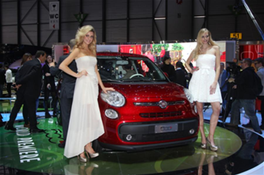 Geneva news: Fiat 'won't make big cars'