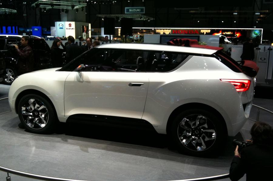Geneva 2012: SsangYong SUV-cabrio