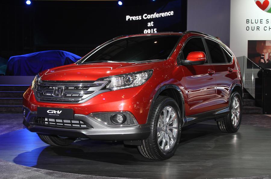 Geneva 2012: Honda CR-V concept