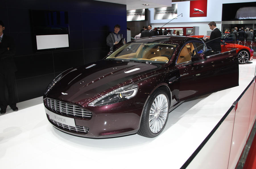 Geneva 2012: revised Aston Vantage