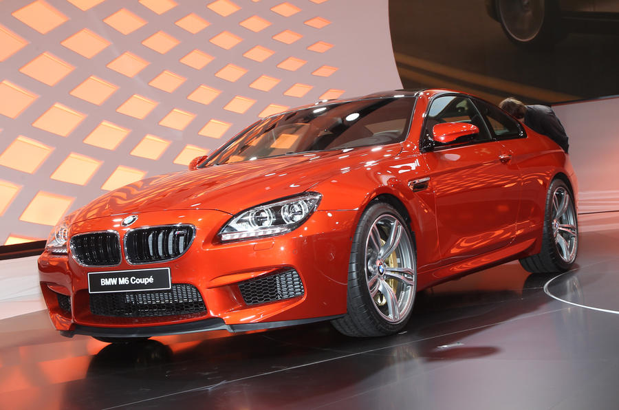 Geneva show 2012: New BMW M6