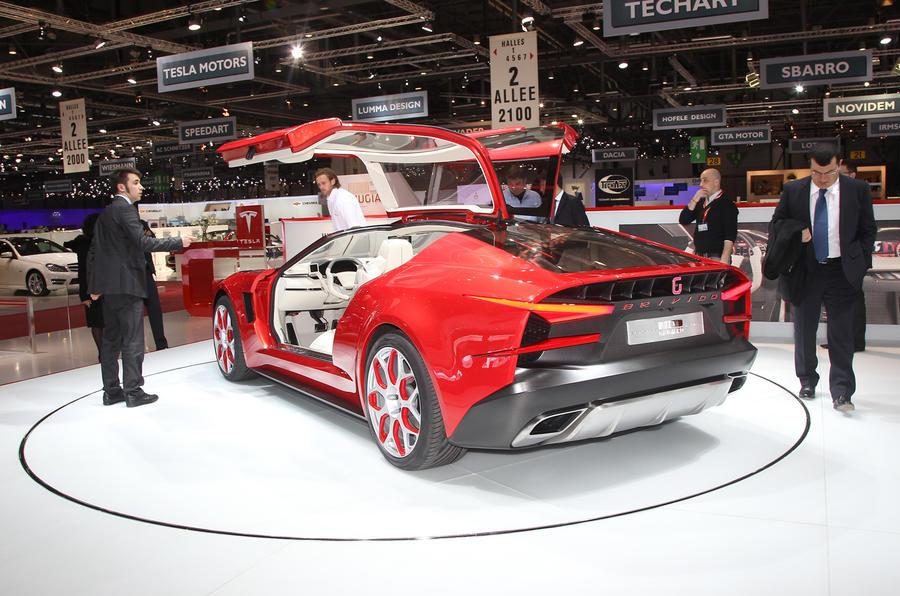 Geneva Motor Show 2012 Italdesign Brivido Autocar