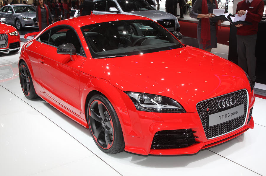 Geneva 2012: Audi TT RS plus