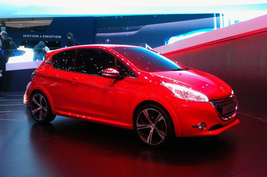 Geneva show: Peugeot 208 GTi