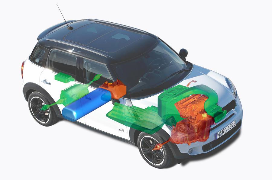 BMW's radical hydrogen hybrid