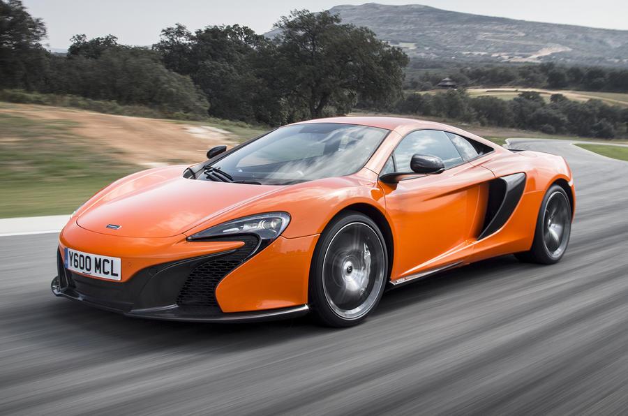 McLaren 12C supercar axed