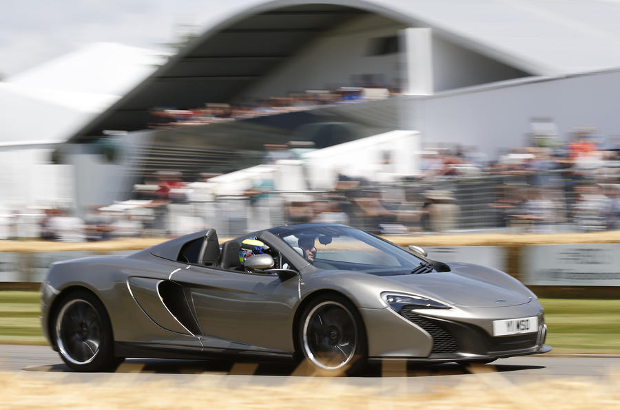 Mclaren 650s Mso Gets Goodwood Debut Autocar