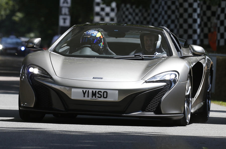 McLaren 650S MSO gets Goodwood debut