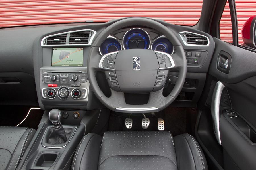 Citroën DS4 dashboard