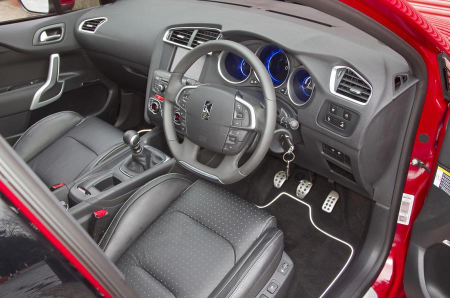 Citroën DS4 interior