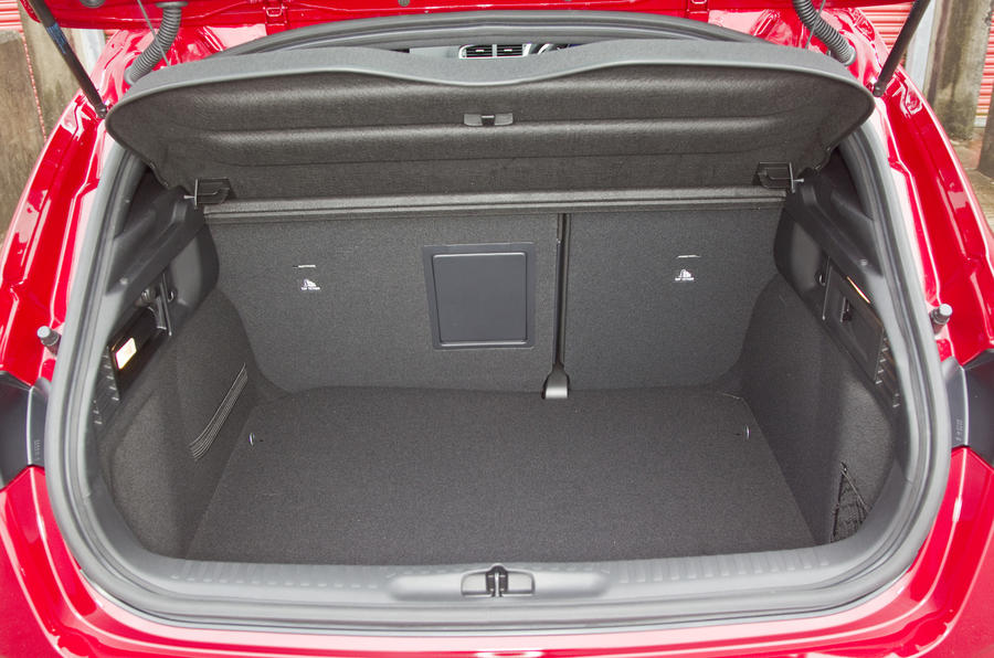Citroën DS4 boot space