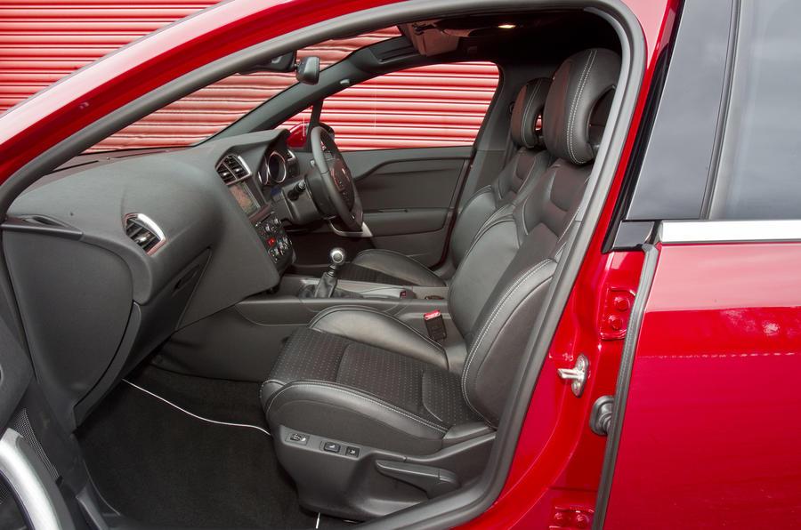 Citroën DS4 front seats