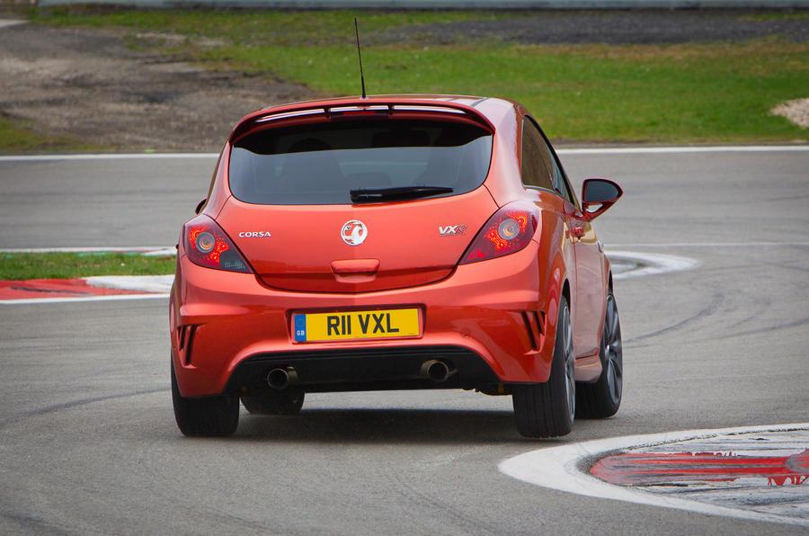 Vauxhall Corsa VXR Nürburgring rear