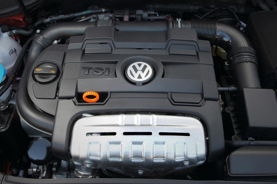 1.4-litre TSI Volkswagen Golf engine