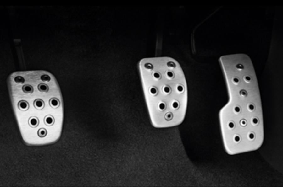 Renault Clio sports pedals