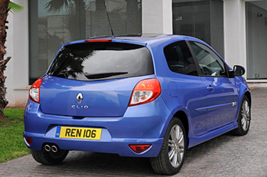 renault clio gt 128 autocar. Black Bedroom Furniture Sets. Home Design Ideas