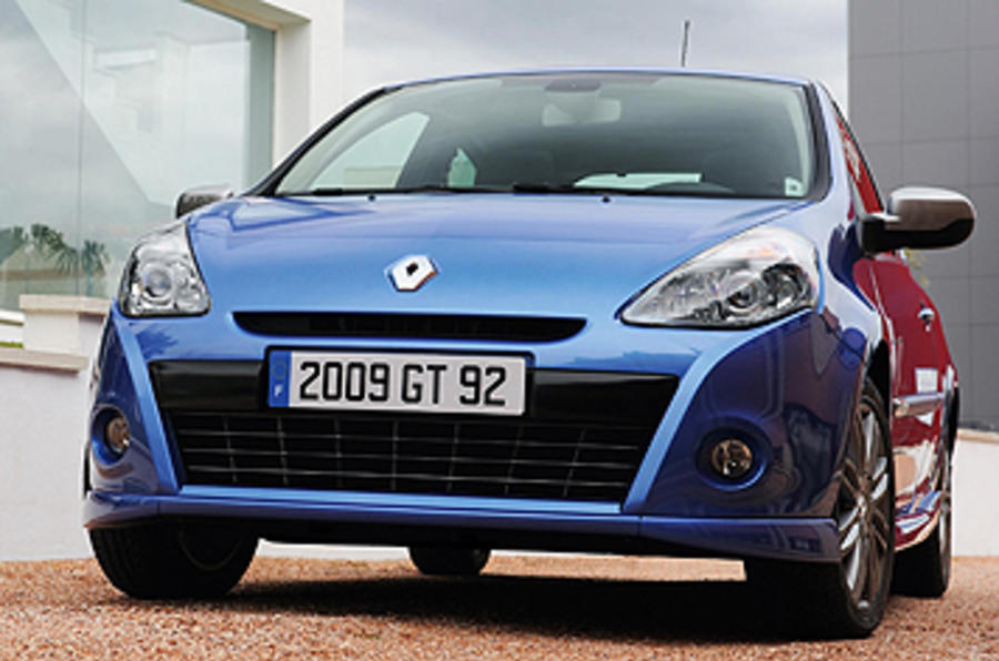 Renault Clio GT 128 front end
