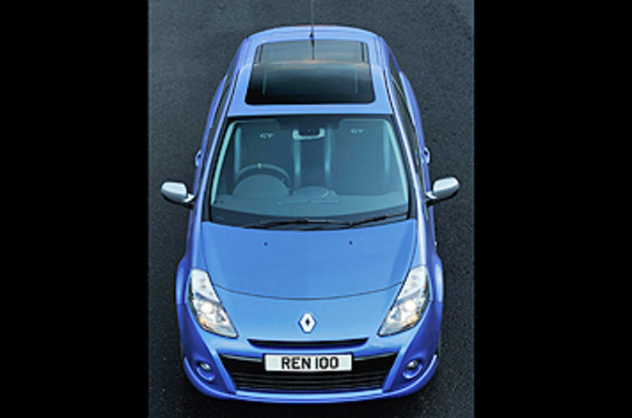 Renault Clio GT 128 top profile