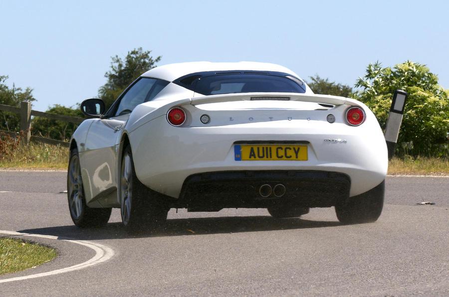 Lotus Evora IPS rear