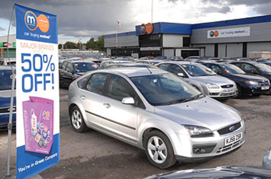 New car sales 'improving'
