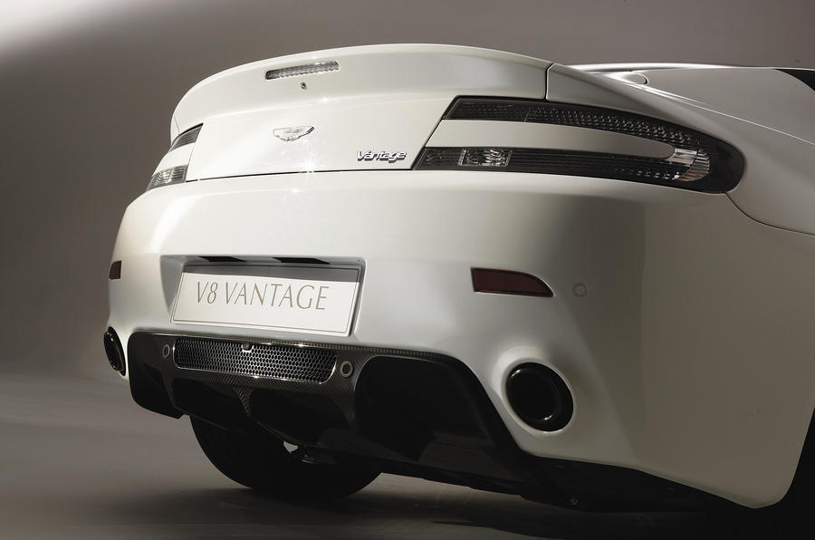 Aston Martin V8 Vantage rear end