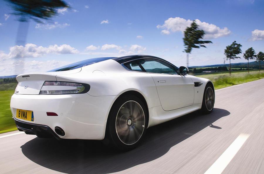 Aston Martin V8 Vantage N420 rear