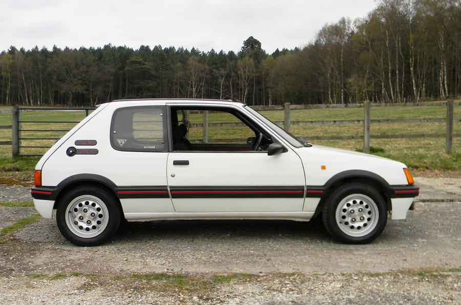 History of the Peugeot 205 GTi - picture special