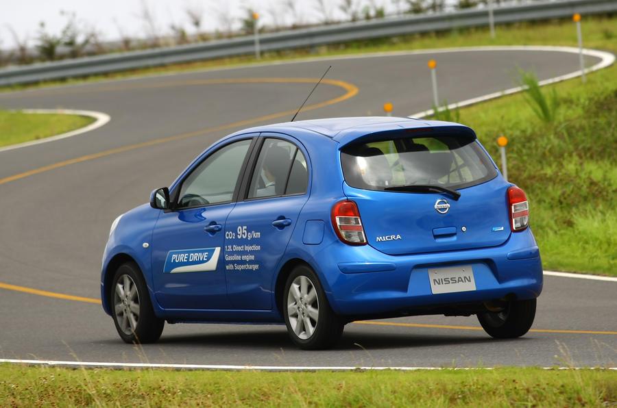 Nissan Micra rear