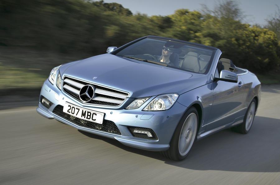 Mercedes e 350 cdi cabriolet review autocar - Mercedes classe e coupe 350 cdi ...
