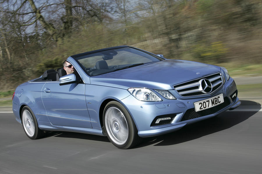 mercedes e 350 cdi cabriolet review autocar. Black Bedroom Furniture Sets. Home Design Ideas