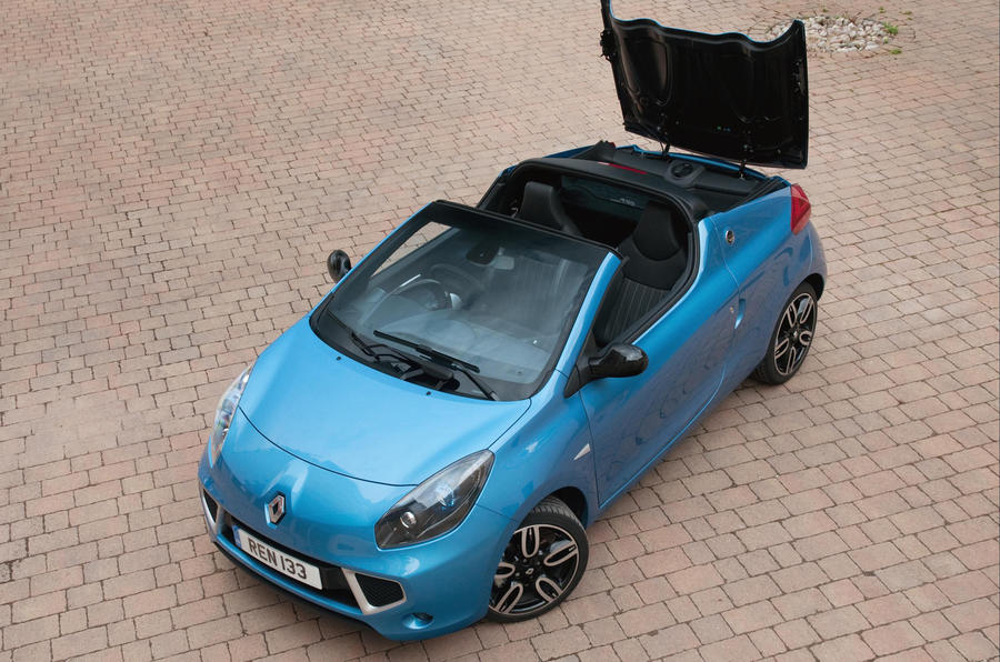 Renault Wind roof opening