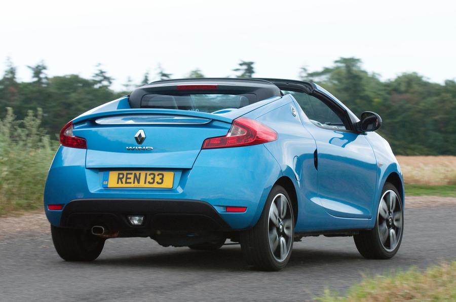 Renault Wind rear end