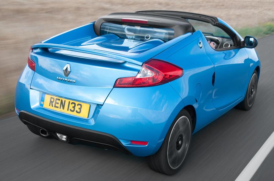 Renault Wind rear