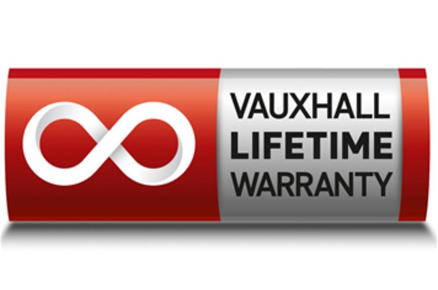 Vauxhall's 'lifetime' warranty