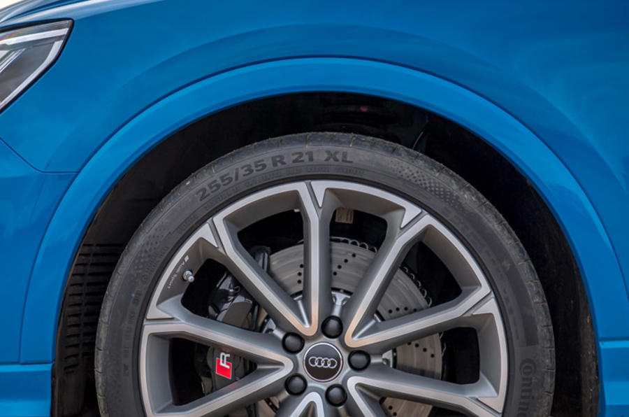 Audi RS Q3 Sportback 2020 road test review - alloy wheels